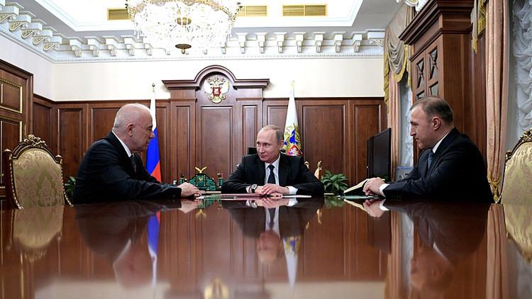 Putin revela qué le ayuda a superar el cansancio y el estrés
