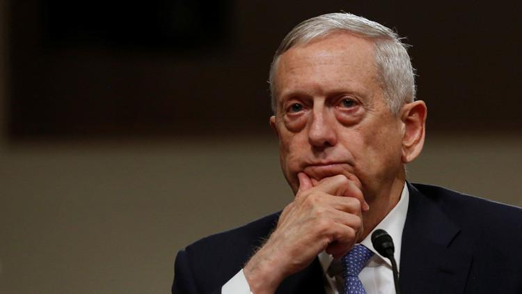 """'Perro rabioso' Mattis: """"EE.UU. no es lo bastante fuerte para contrarrestar los desafíos mundiales"""""""