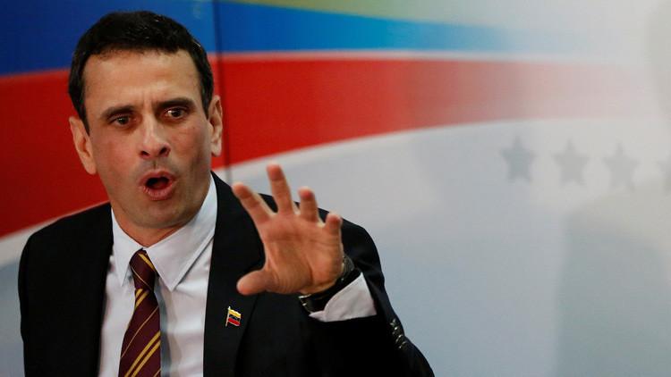 Contraloría venezolana cita a Capriles por irregularidades en su gestión como gobernador