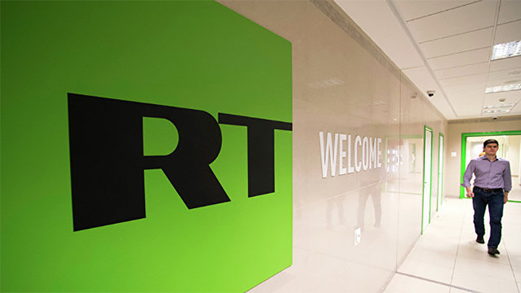 Un noticiero de RT aparece en plena transmisión de una sesión del Congreso de EE.UU. (VIDEO)