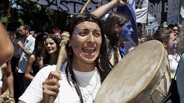 La histórica pugna entre Benetton y los mapuches se agrava con varios heridos en Argentina