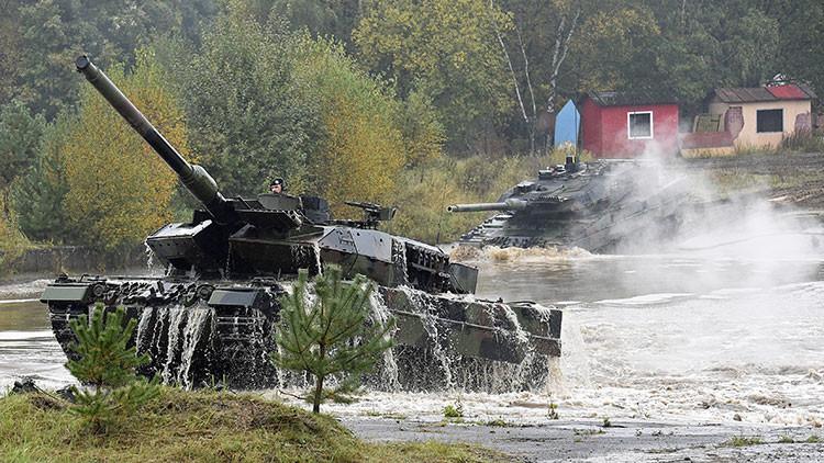 El Estado Islámico encuentra un punto débil en los 'indestructibles' tanques alemanes