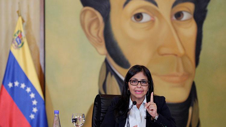 """Delcy Rodríguez: """"Las nuevas agresiones de Obama forman parte de su legado de odio"""""""