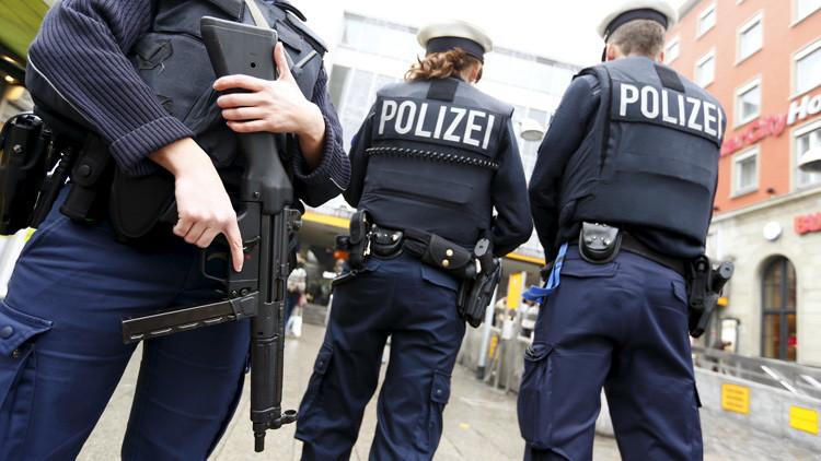 La Policía alemana se incauta de 155 kilos de explosivos