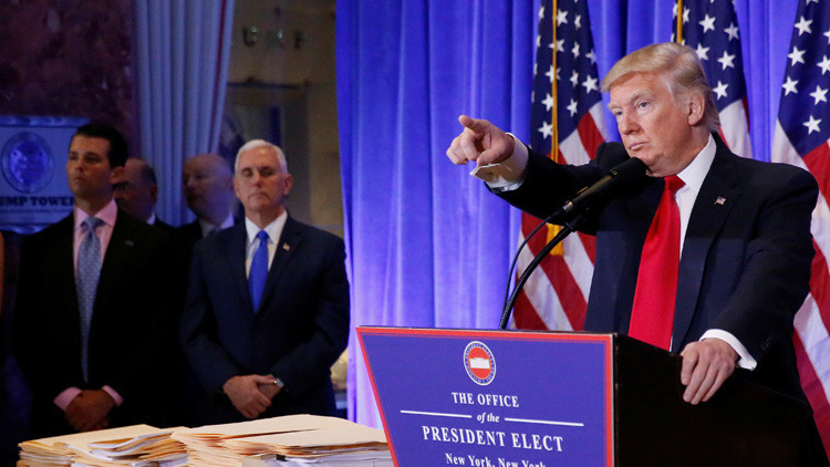 ¿Va el gabinete elegido por Trump contra sus propias ideas en política exterior?