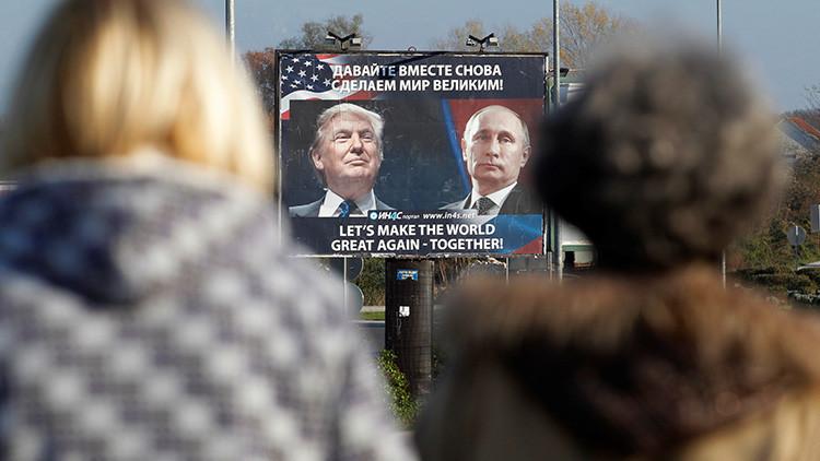 'Sunday Times': Trump planea reunirse con Putin en la capital islandesa