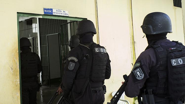 Tres presos fueron decapitados durante un nuevo motín en dos cárceles brasileñas (PRIMERAS IMÁGENES)