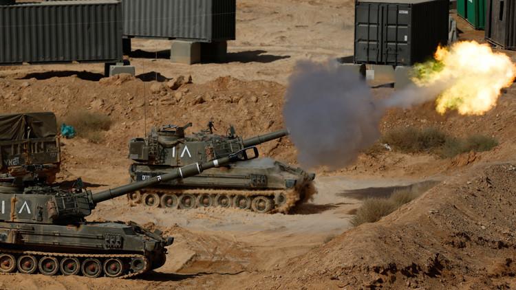 El Ejército de Israel responde con fuego de artillería a disparos en la frontera de Gaza