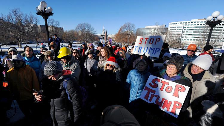 Asunción de Trump: Comienza una semana de protestas en EE.UU.