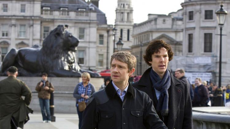 """""""¡Eso es demasiado, Putin, demasiado!"""": Se filtra a la Red en Rusia el último episodio de 'Sherlock'"""