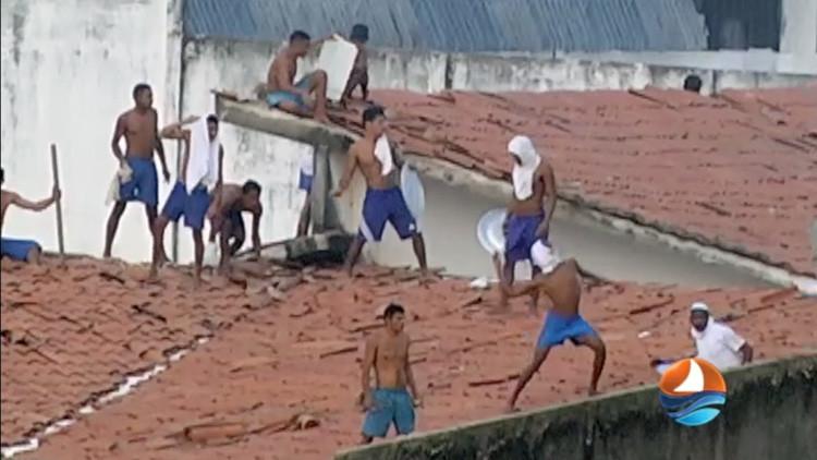 Asciende a 30 el número de muertos por los motines en dos cárceles brasileñas