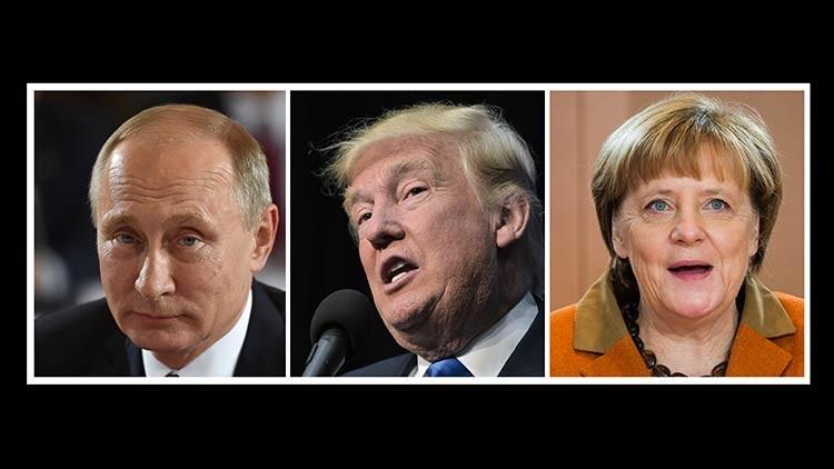 """Trump afirma que comenzará confiando en Putin y en Merkel, pero eso """"podría no durar mucho"""""""