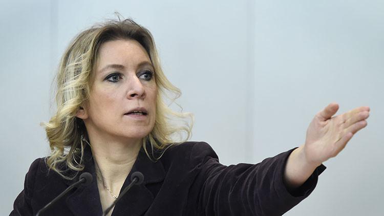 """Zajárova revela el intento de """"reclutamiento"""" del diplomático ruso que buscó una medicina en EE.UU."""