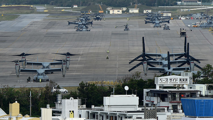 Limitan la protección legal de los trabajadores de las bases militares de EE.UU.en Japón