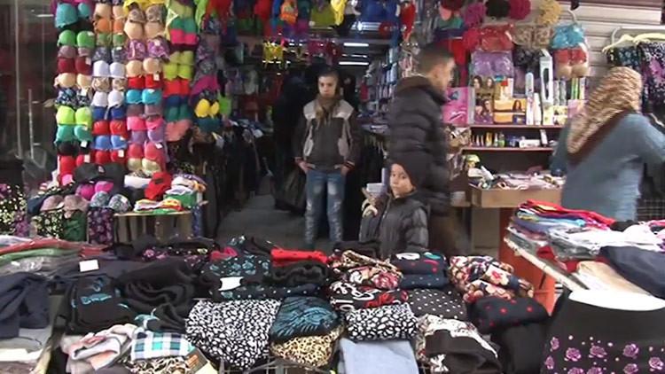 Video: Un famoso mercado callejero de Alepo reabre tras dos años