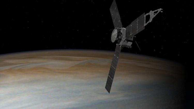 La NASA publica una impresionante imagen de la Gran Mancha Roja de Júpiter (FOTO)