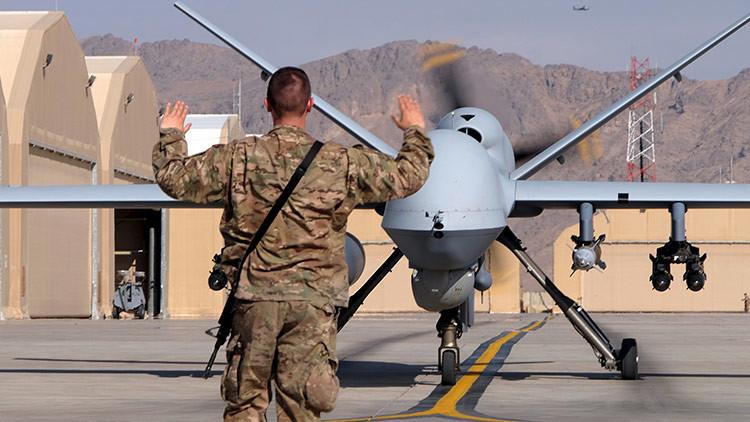 Cae un dron estadounidense en el este de Afganistán (FOTO)