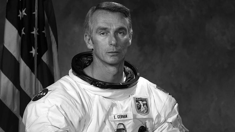 Fallece Gene Cernan, el último hombre que estuvo en la Luna