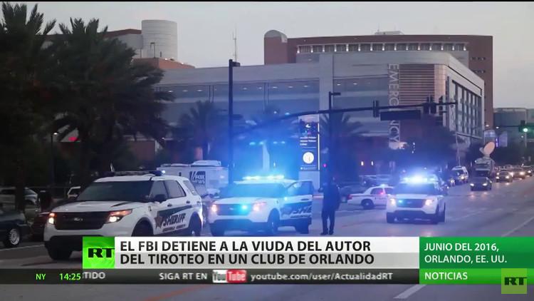 El FBI detiene a la viuda del autor de la masacre de Orlando