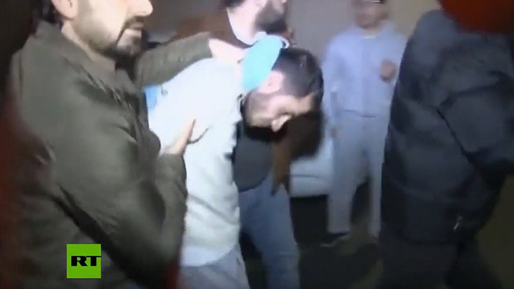 Publican las imágenes del arresto del presunto autor del atentado de Estambul en Nochevieja