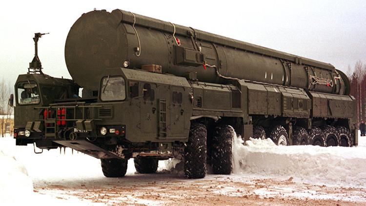 Desde el oeste al este: Rusia lanza un misil Tópol-M para probar su capacidad
