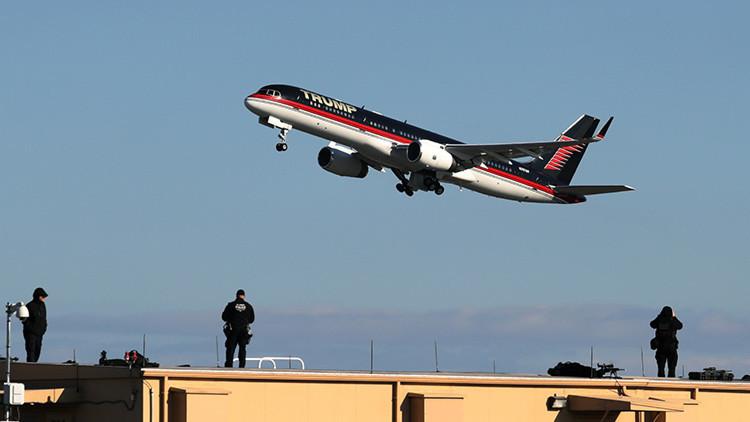 El avión personal de Trump perteneció a una aerolínea mexicana de bajo costo
