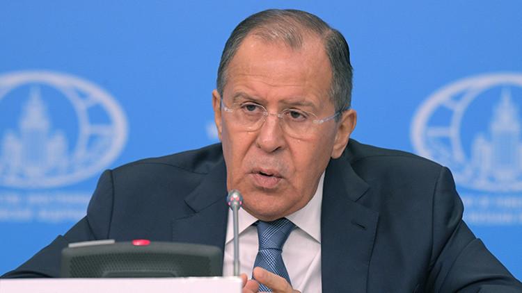 """Lavrov: """"Rusia busca un enfoque común para los interesados en el desarrollo de la economía mundial"""""""