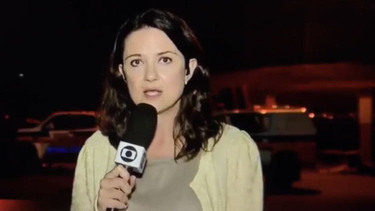 VIDEO: Periodista es agredida en plena cobertura de disturbio en una cárcel de Brasil