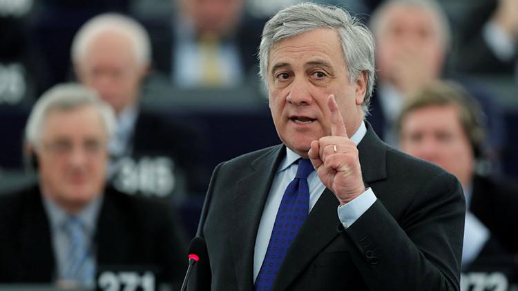 El italiano Antonio Tajani, nuevo presidente del Parlamento Europeo