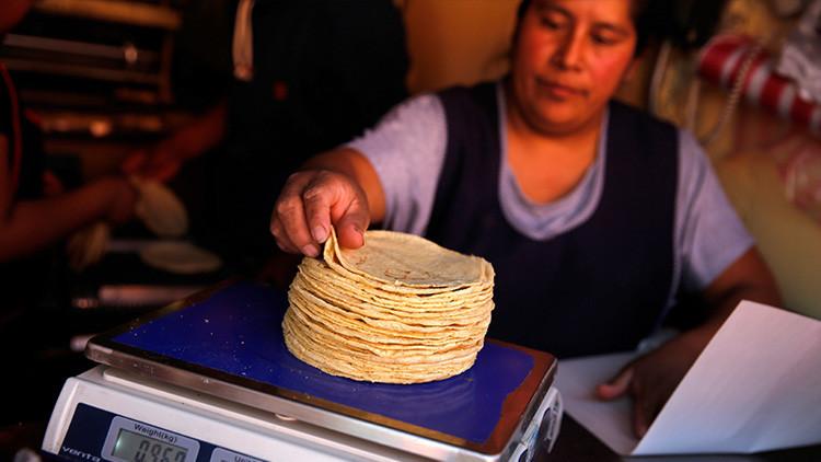 México: sube el precio de la tortilla por culpa del 'gasolinazo'