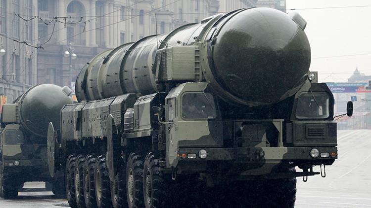 Rusia lanza con éxito su temible misil balístico intercontinental