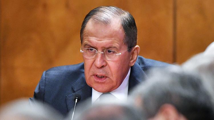"""""""Participaron activamente"""": Lavrov nombra a los países que intervinieron en las elecciones en EE.UU."""
