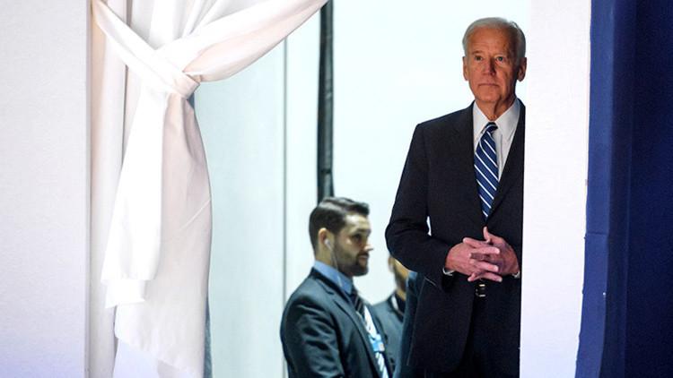 Joe Biden 'funde los plomos' del Foro de Davos (video)