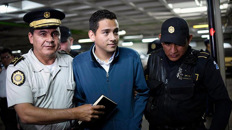 Hijo y hermano del presidente de Guatemala son capturados por corrupción