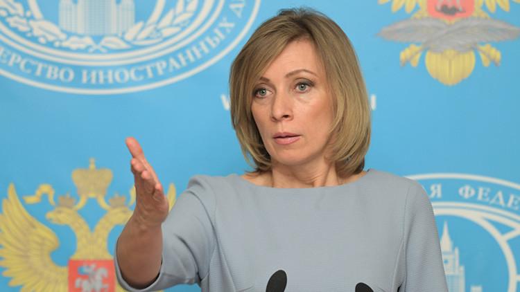 Zajárova revela nuevo intento de reclutar a un diplomático ruso en EE.UU.