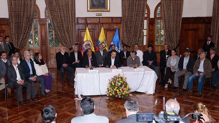 El Gobierno colombiano y el ELN abrirán la fase pública de negociaciones el 7 de febrero