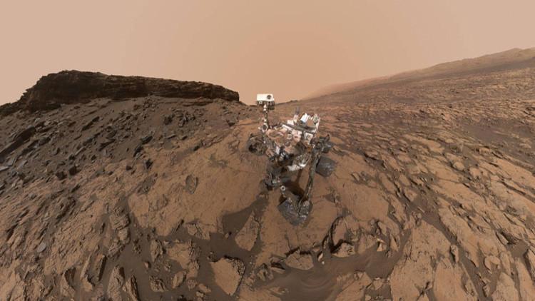 La NASA detecta por primera vez vestigios de barro en Marte