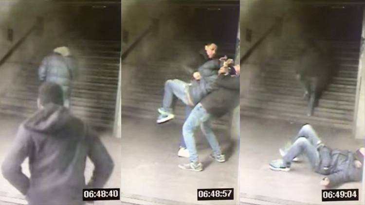 VIDEO: Roban a un hombre con la llave 'mataleón' en pleno Metro de Madrid