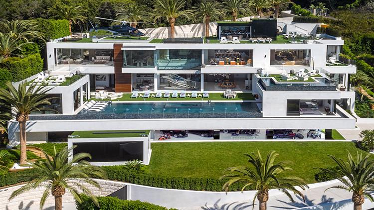Miren por la 'mirilla' de la mansión más cara de EE.UU., que está a la venta