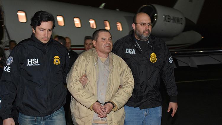 PRIMER VIDEO: sacan al Chapo de prisión para extraditarlo a EE.UU.