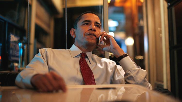 ¿A quién realiza Obama su última llamada como presidente?
