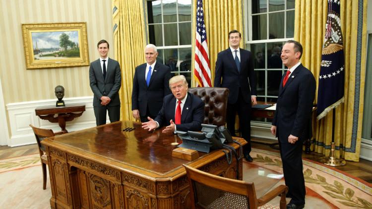 Trump devuelve el busto de Winston Churchill al Despacho Oval