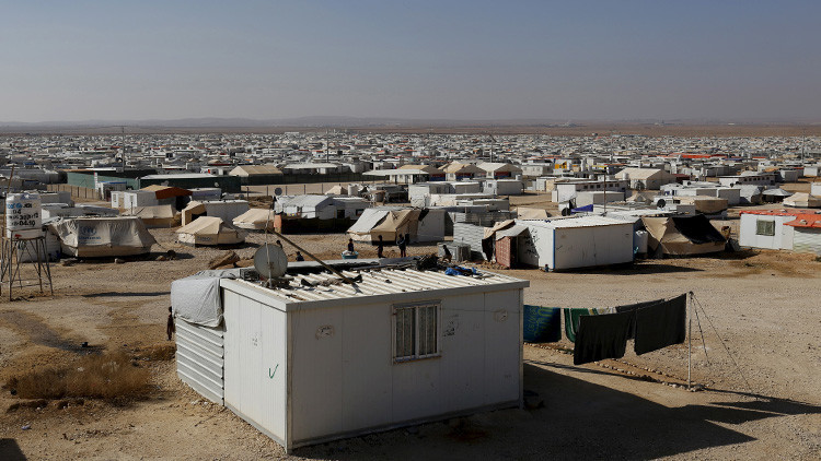 Una explosión sacude un campo de refugiados en la frontera entre Siria y Jordania