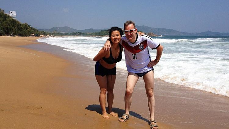 Playas y parques acuáticos: la cara inesperada de Corea del Norte captada por un turista
