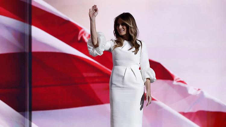 Melania Trump publica su primer mensaje en la cuenta de Twitter de la primera dama de EE.UU.