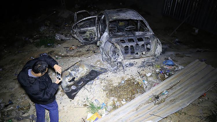 Explosión de un coche bomba cerca de la Embajada italiana en Trípoli deja dos muertos (video)