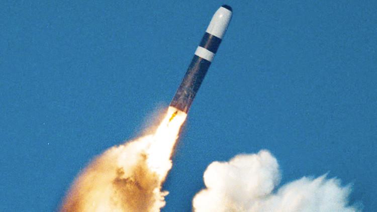 El Gobierno británico encubrió una prueba fracasada de un misil balístico