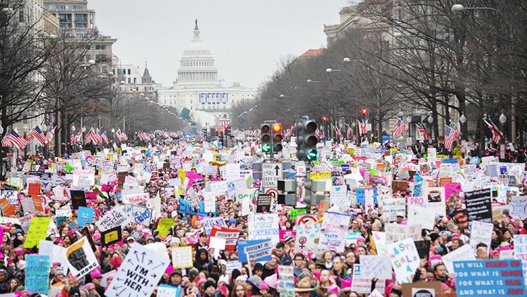 """Trump sobre las protestas en su contra: """"¿Por qué estas personas no votaron?"""""""
