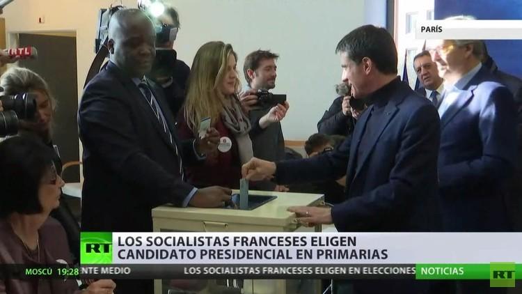 Los socialistas franceses eligen al candidato presidencial en las primarias