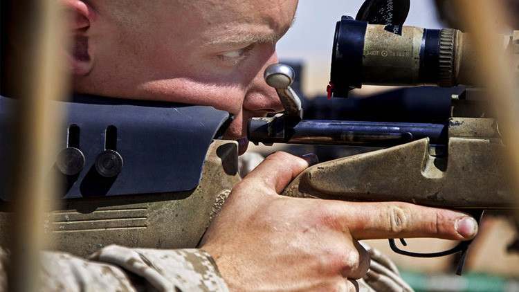 Un francotirador británico logra 'un disparo entre un millón' en Irak